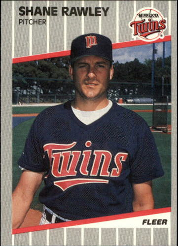Photo of 1989 Fleer Update #44 Shane Rawley