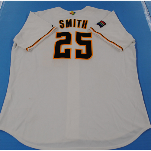 Photo of 2006 Inaugural World Baseball Classic: Darryn Smith Game-worn Team South Africa Home Jersey