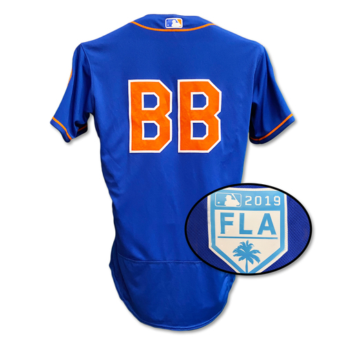 Photo of Bat Boy - Team Issued Blue Alt. Home Jersey - 2019 Spring Training