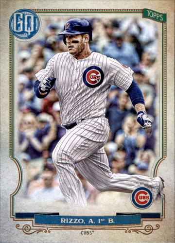 Photo of 2020 Topps Gypsy Queen #86 Anthony Rizzo