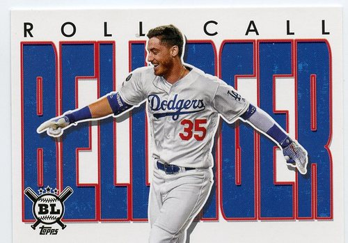 Photo of 2020 Topps Big League Roll Call #RC26 Cody Bellinger
