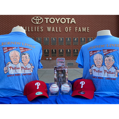 Photo of Legends' Lineup Package- Charlie Manuel & Larry Bowa