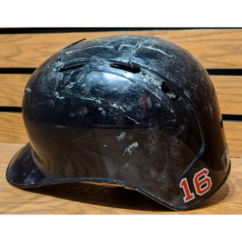 Photo of Andrew Benintendi #16 Game Used Batting Helmet