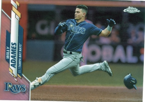 Photo of 2020 Topps Chrome Pink Refractors #179 Willy Adames