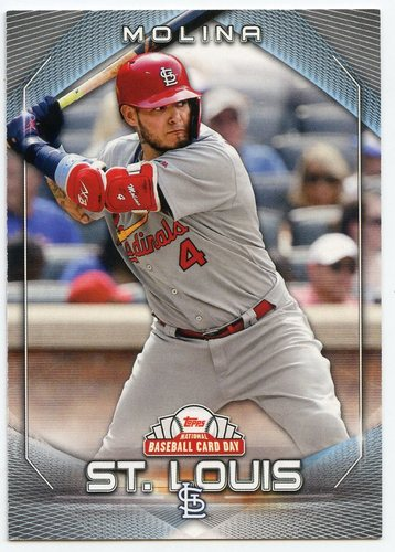 Photo of 2020 Topps National Baseball Card Day #26 Yadier Molina