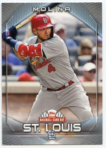 Photo of 2020 Topps National Baseball Card Day #26 Yadier Molina