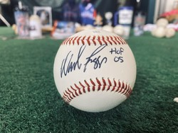 Photo of Wade Boggs Signed & Inscribed Baseball