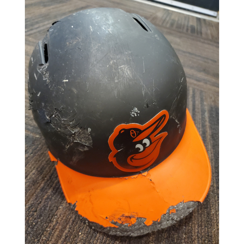 Photo of Trey Mancini Team-Issued Batting Helmet - Size 7 5/8
