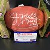 Legends - Bills Jim Kelley Signed Authentic Football