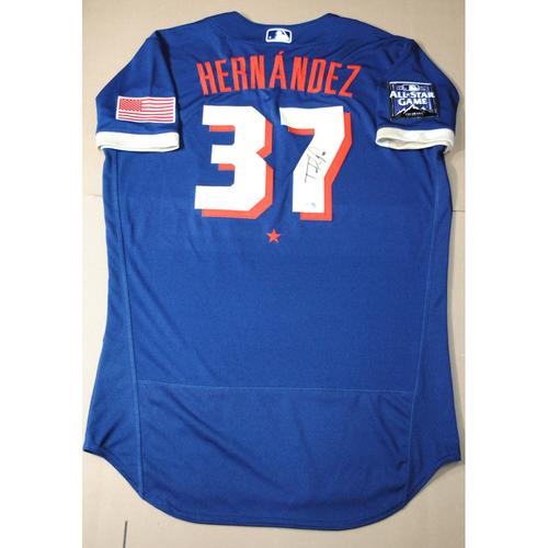 Photo of Teoscar Hernandez 2021 Major League Baseball All-Star Game Autographed Jersey