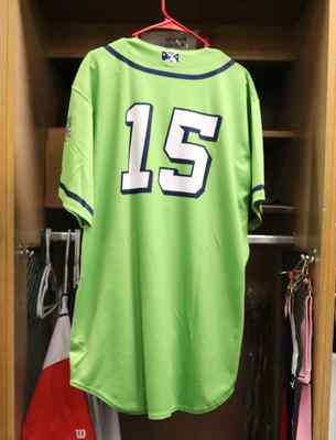 Stockton Ports Brayan Buelvas Asparagus jersey, #15, Size 46