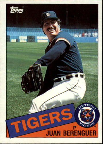 Photo of 1985 Topps #672 Juan Berenguer