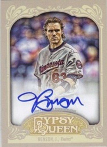 Photo of 2012 Topps Gypsy Queen Autographs #JB Joe Benson AUTO