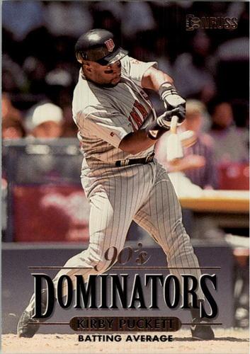 Photo of 1994 Donruss Dominators Jumbos #B5 Kirby Puckett