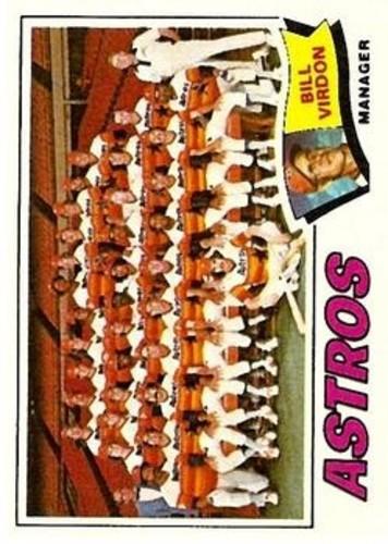 Photo of 1977 Topps #327 Houston Astros CL/Bill Virdon MG