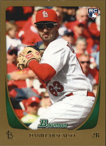 Photo of 2011 Bowman Gold #215 Daniel Descalso