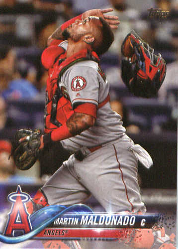 Photo of 2018 Topps #24 Martin Maldonado