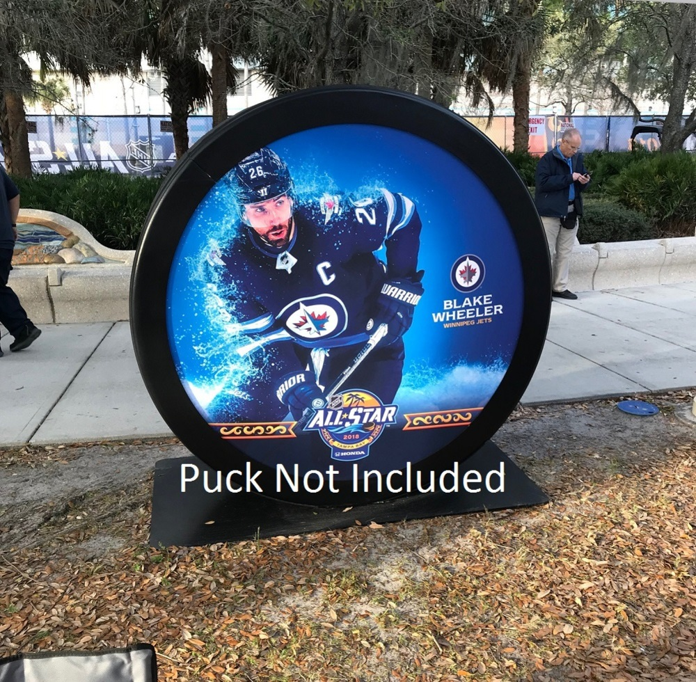 2018 NHL All-Star Game Banner Featuring Blake Wheeler (Winnipeg Jets)
