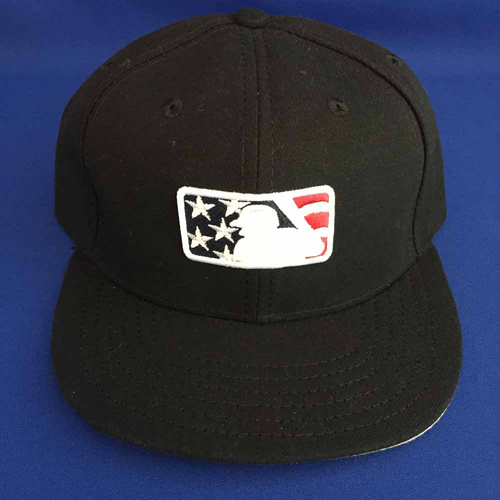Photo of UMPS CARE AUCTION: MLB Specialty Stars and Stripes Umpire Base Cap, Size 7 1-8