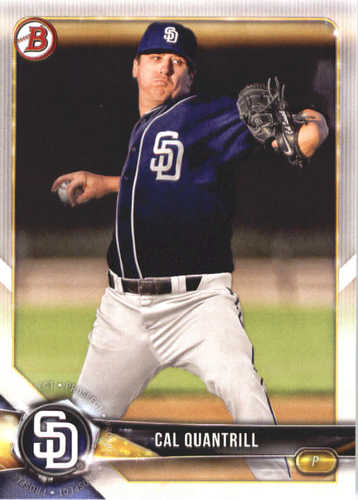 Photo of 2018 Bowman Prospects #BP115 Cal Quantrill