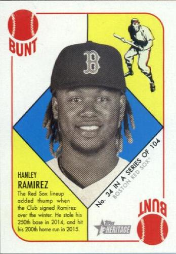 Photo of 2015 Topps Heritage '51 Collection #34 Hanley Ramirez