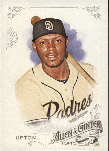 Photo of 2015 Topps Allen and Ginter #141 Justin Upton