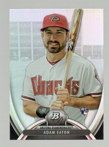 Photo of 2013 Bowman Platinum #57 Adam Eaton Rookie Card
