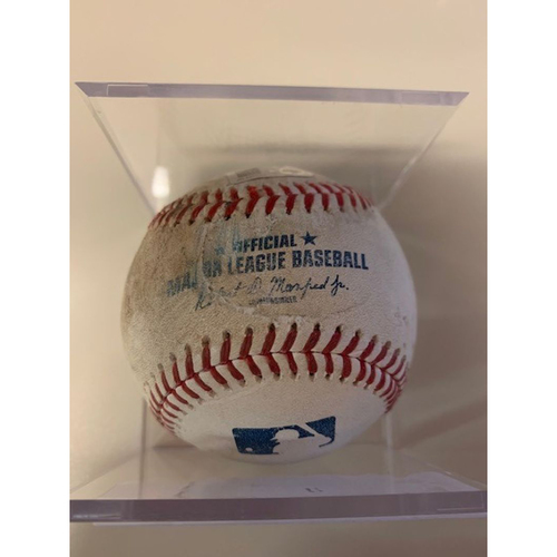 Photo of Game-Used Baseball: Jose Altuve Single