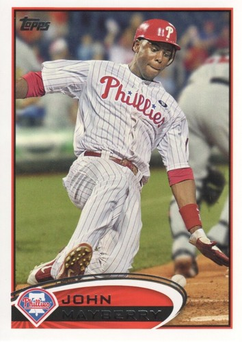 Photo of 2012 Topps #353 John Mayberry