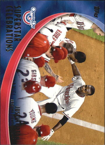 Photo of 2012 Topps Opening Day Superstar Celebrations #SC2 Justin Upton