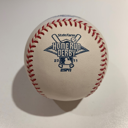 Photo of 2011 Home Run Derby - Game Used Baseball - Batter: Matt Kemp -  Round 1 Out #9