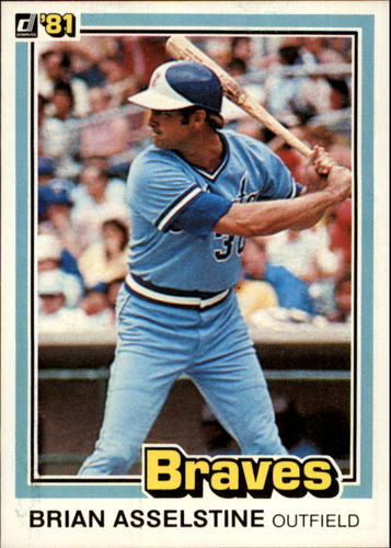 Photo of 1981 Donruss #186 Brian Asselstine