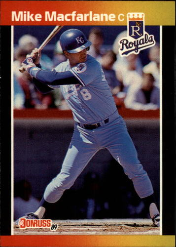 Photo of 1989 Donruss #416 Mike Macfarlane RC *