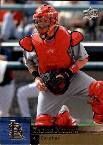 Photo of 2009 Upper Deck #356 Yadier Molina