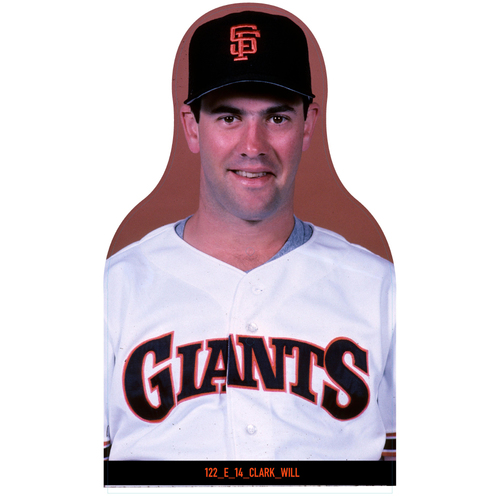 Photo of Giants Community Fund: Giants Will Clark Cutout