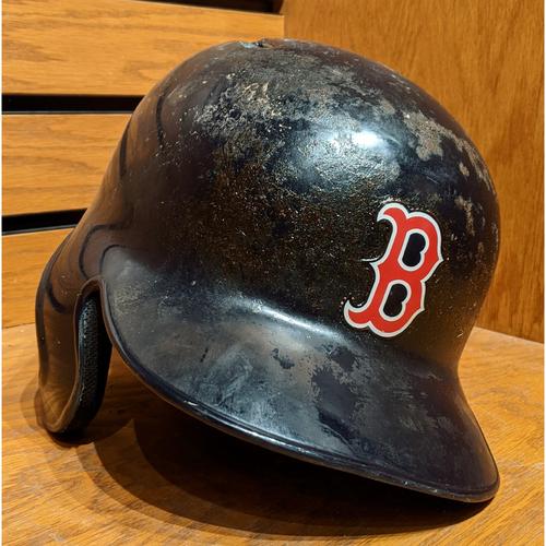 Photo of Brock Holt #12 Game Used Batting Helmet