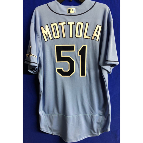 Photo of Team Issued Spring Training Jersey: Chad Mottola - 2020