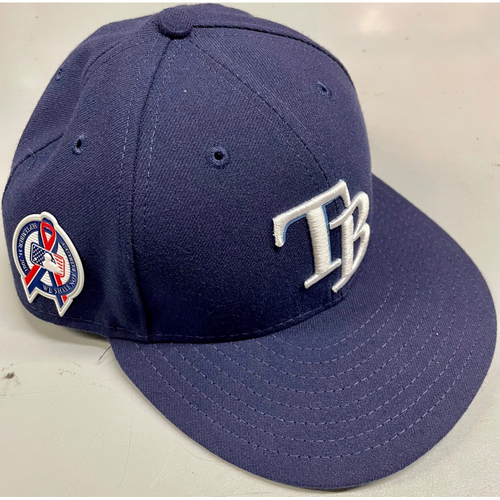 Photo of Game Used Cap: Nick Ciuffo - Rookie Season - September 11, 2018 v CLE