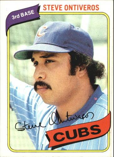 Photo of 1980 Topps #514 Steve Ontiveros