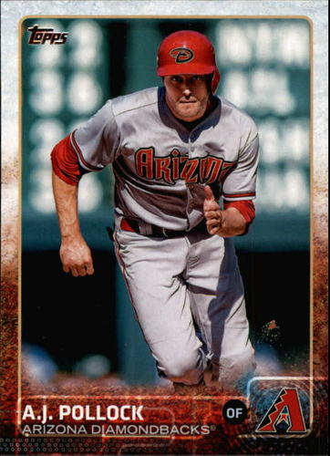 Photo of 2015 Topps #572 A.J. Pollock