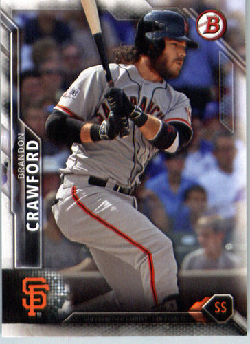 Photo of 2016 Bowman #77 Brandon Crawford