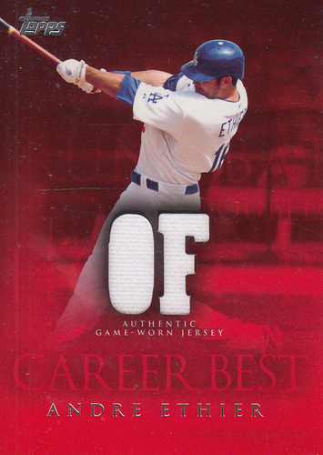 Photo of 2009 Topps Career Best Relics #AE Andre Ethier Jsy B2