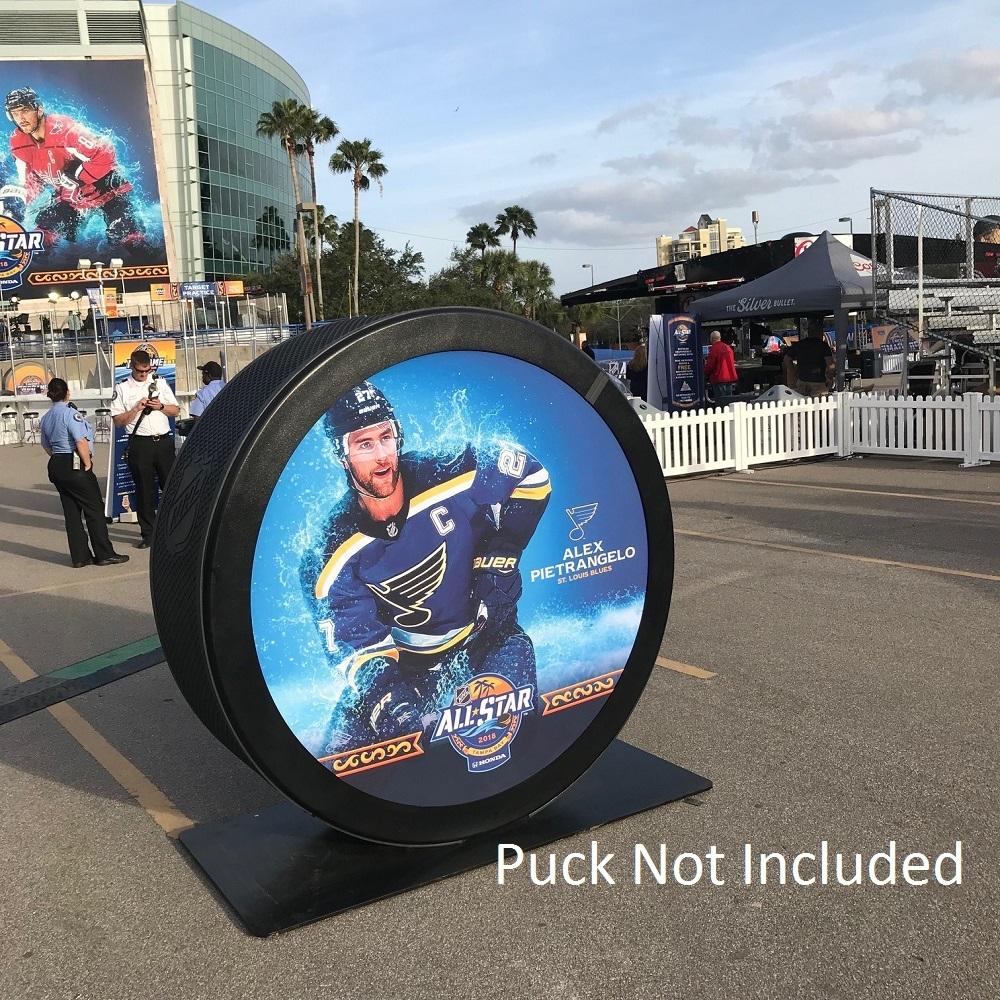 2018 NHL All-Star Game Banner Featuring Alex Pietrangelo (St. Louis Blues)