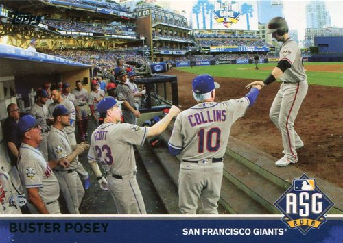 Photo of 2016 Topps Update All-Star Game Access #MLB12 Buster Posey