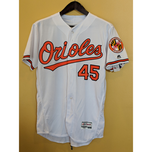 Photo of Mark Trumbo - Home Jersey: Autographed
