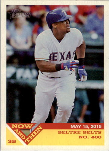 Photo of 2015 Topps Heritage Now and Then #NT6 Adrian Beltre