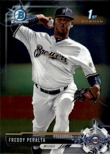 Photo of 2017 Bowman Chrome Prospects #BCP22 Freddy Peralta
