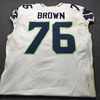 NFL - Seahawks Duane Brown London Games Game Used Jersey Size 50 (10/14/18)