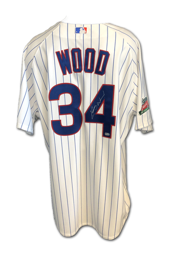 Photo of Kerry Wood Autographed Jersey: Size 48