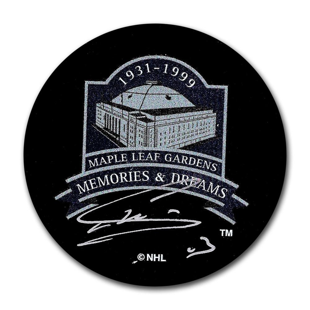 Mats Sundin Autographed Maple Leaf Gardens Memories & Dreams Puck